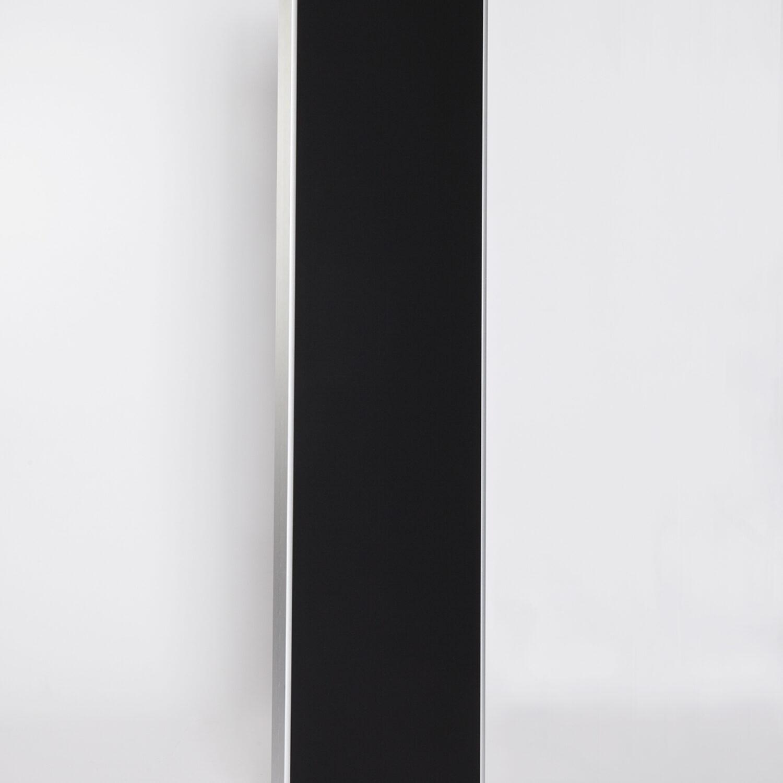1Langwerpig Zwart Mat